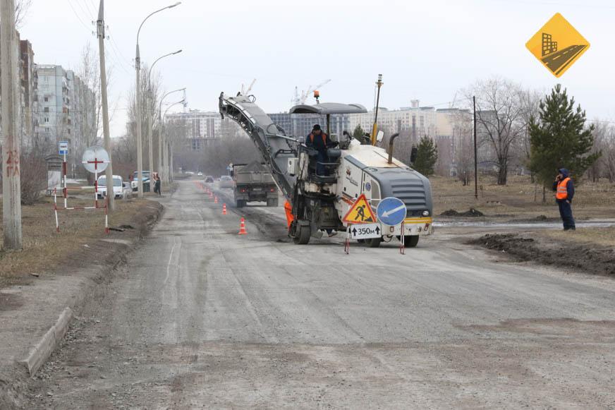 В администрации Кемерова рассказали о ходе ремонта дорог на Московском и Комсомольском