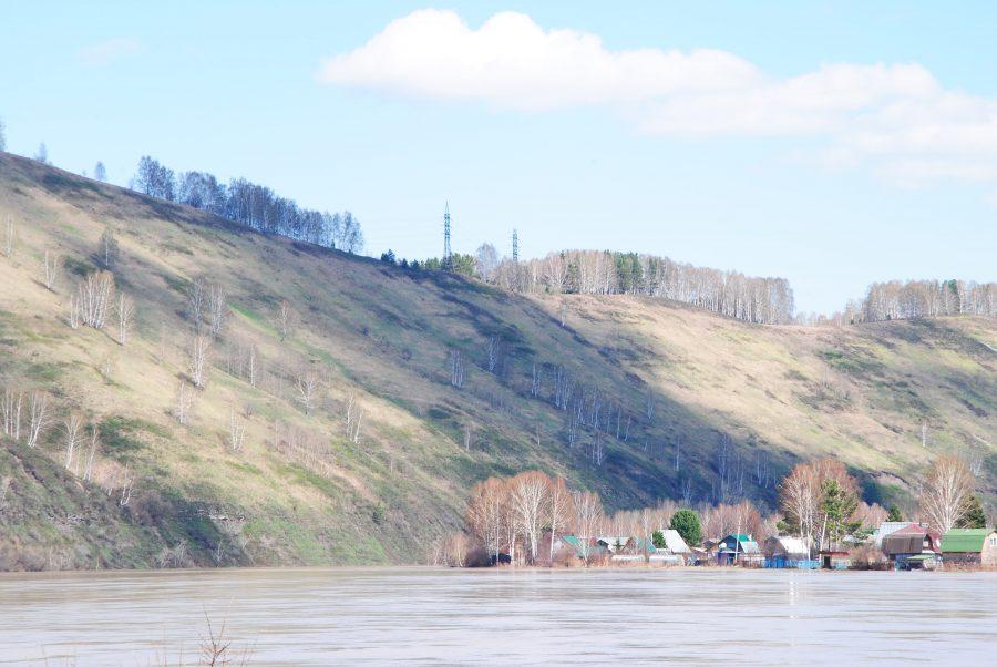 Синоптики: за прошедшие сутки уровни воды повысились в большинстве рек Кузбасса
