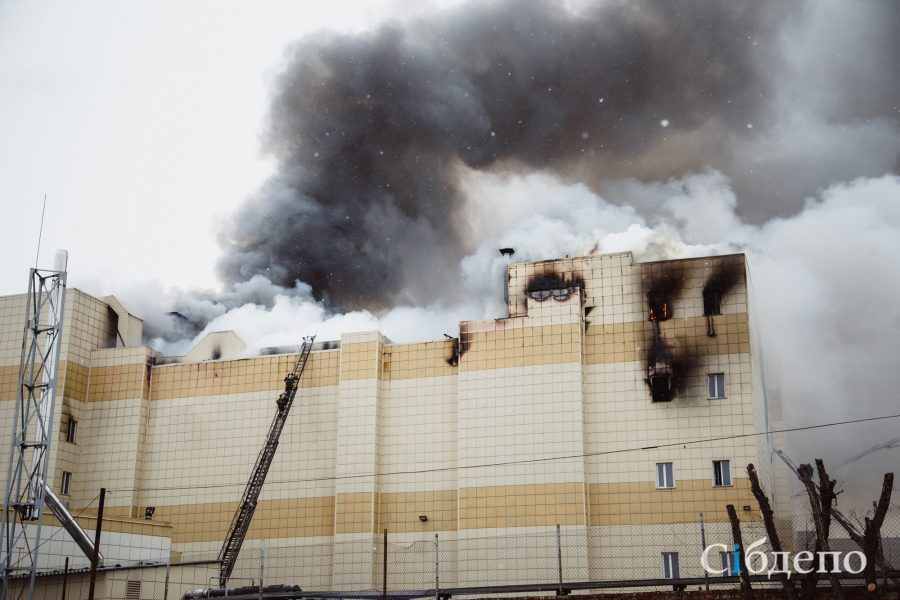 МЧС: нарушения выявлены у 50% объектов, проверенных после пожара в «Зимней вишне»