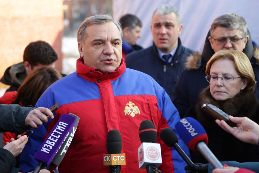 Михалков усмотрел вину руководителя МЧС впожаре вКемерове, вответ— «бред»