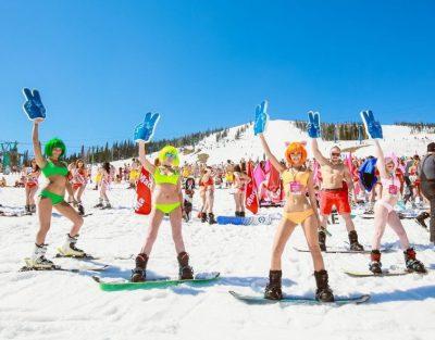 Организаторы GrelkaFest-2018 назвали победителей карнавального спуска в Шерегеше