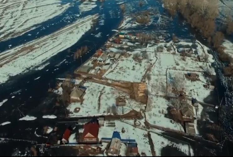 Пять подворий оказались в зоне подтопления в кузбасском посёлке
