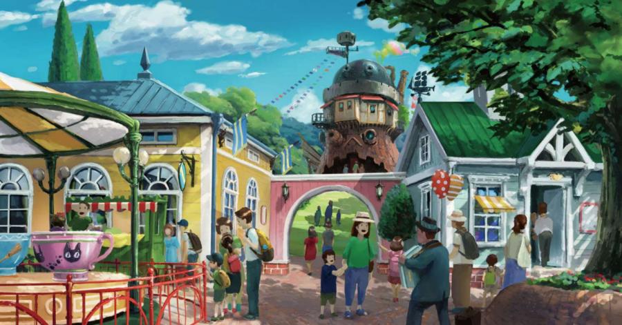 Студия Ghibli показала парк развлечений по мотивам мультфильмов Миядзаки