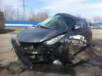В Кузбассе произошли аварии с участием маршруток