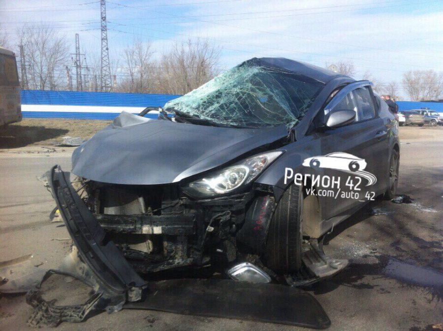 В Кузбассе произошли две аварии с участием маршруток