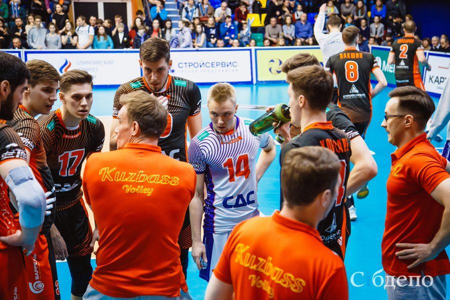 Волейболисты «Кузбасса» остались без медалей чемпионата российской Суперлиги