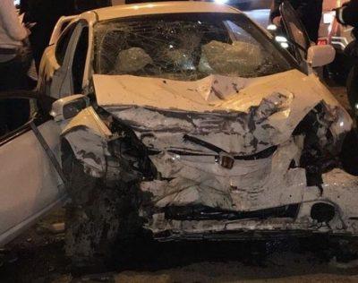 В Новокузнецке при столкновении Hyundai и Honda погибли оба водителя