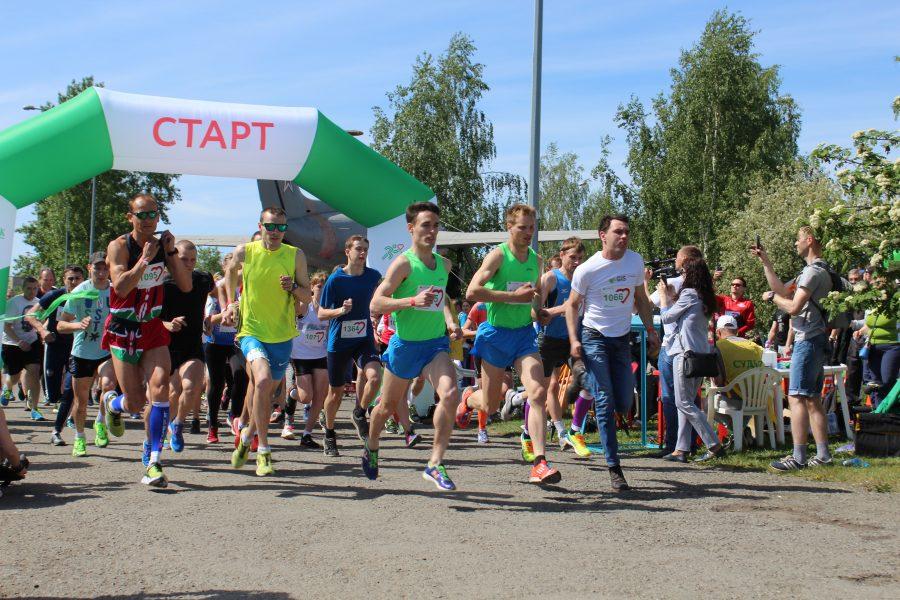 Сберегательный банк приглашает иркутян наЗеленый марафон