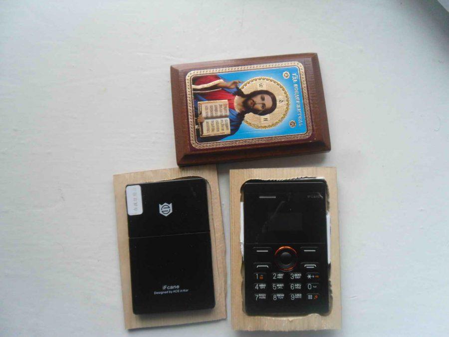 В Кемерове осуждённому пытались передать телефоны, спрятанные в иконах