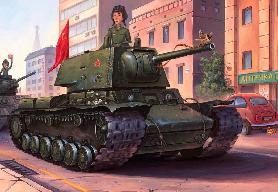 Кемеровчанин победил во всероссийском конкурсе иллюстраций к 9 мая