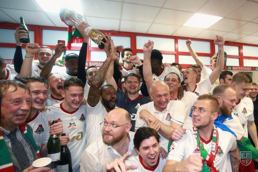 «Локомотив» впервые за 14 лет стал чемпионом России по футболу