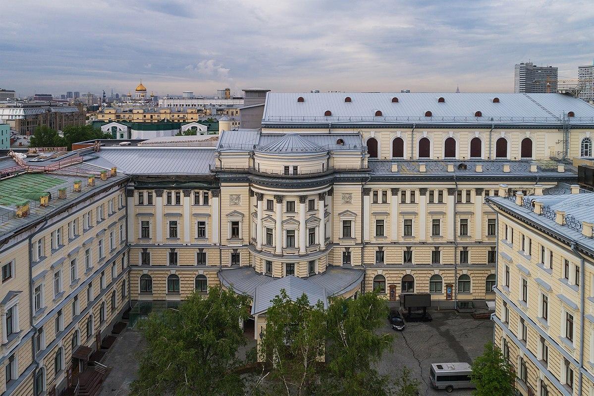 Картинка консерватория здание