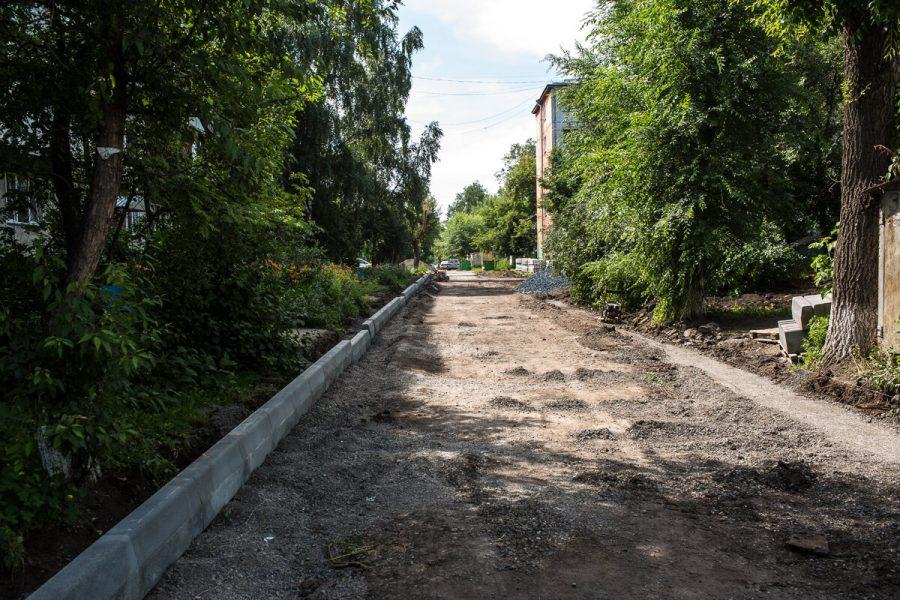 В Кемерове в 2018 году отремонтируют 61 двор