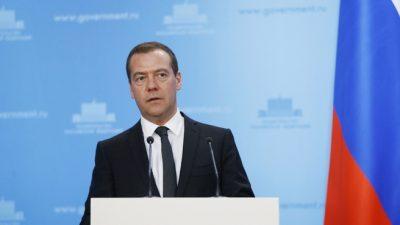 Дмитрий Медведев объявил о повышении НДС до 20%