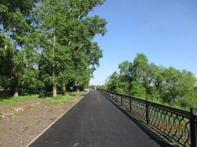На набережной Кировского района Кемерова появятся велодорожка и памп-трек