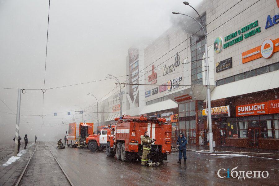 «Красный Крест» перечислил по 1,1 млн рублей семьям погибших при пожаре в «Зимней вишне»
