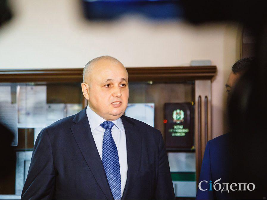 Сергей Цивилев назвал совладельца «Зимней вишни» крупнейшим инвестором региона