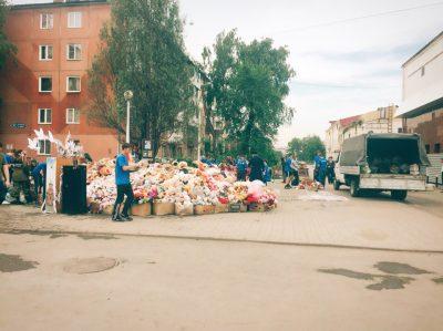 В Кемерове начали разбирать мемориал возле «Зимней вишни»