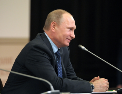 Президент России поздравил кемеровчан со 100-летием города