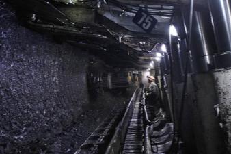 В Кузбассе бригада шахты им. В.Д. Ялевского добыла 2 млн тонн угля с начала года