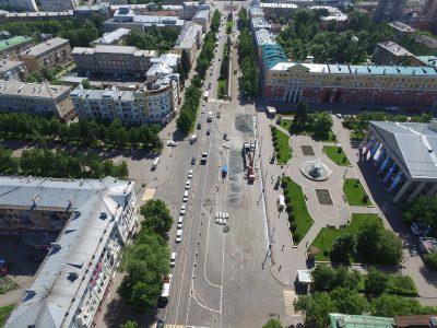 В Кемерове на Советском вновь изменят схему движения из-за ремонтных работ