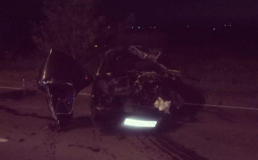 В Сети появились фото последствий серьёзного ДТП в Анжеро-Судженске