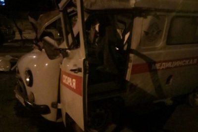 В Новокузнецке произошла серьёзная авария с участием скорой