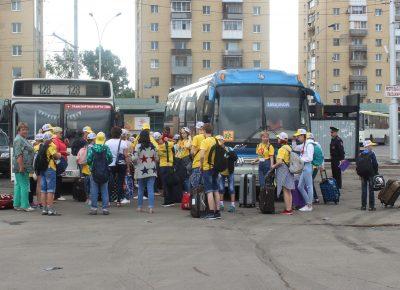 В Кузбассе водители перевозили детей на пяти автобусах с нарушениями