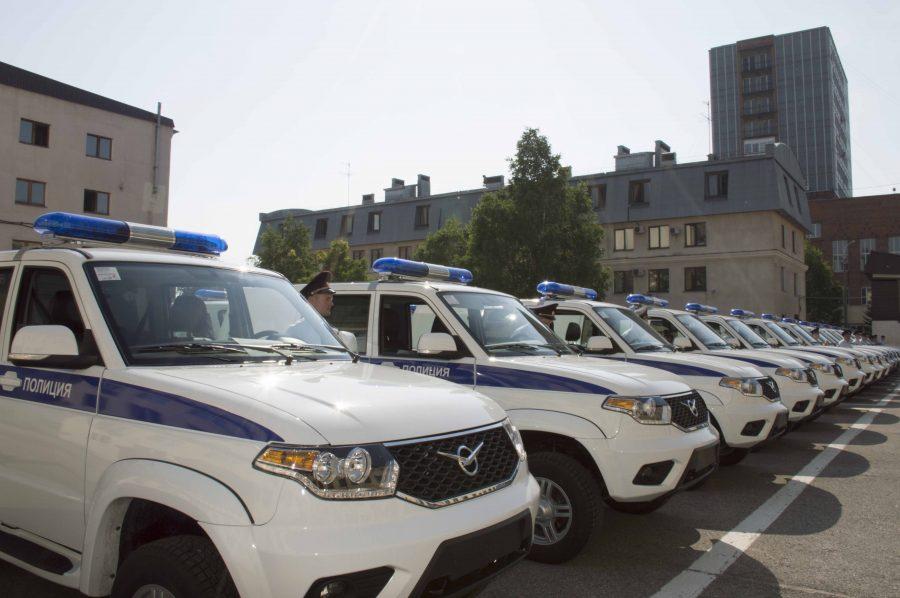Кузбасская полиция получила 28 новых служебных машин