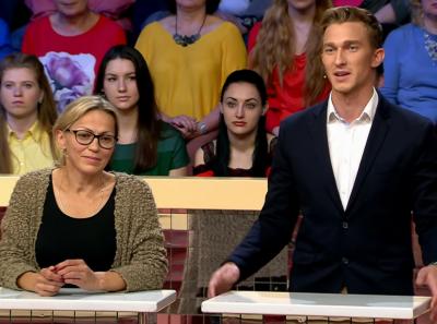 Киселевчанку переодели в программе «Модный приговор» на «Первом канале»