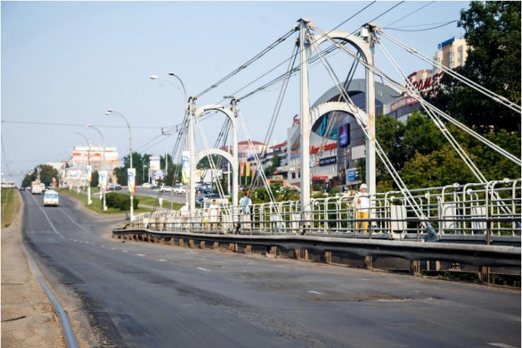 Участок проспекта Ленина наИскитимском мосту починят вне очереди