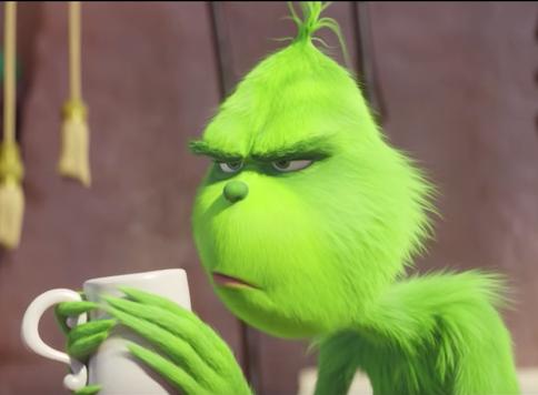 В сети появился новый трейлер мультфильма «Гринч»