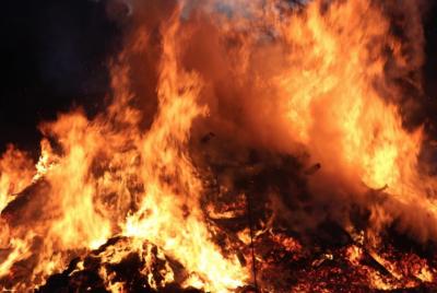 В Кузбассе при пожаре в санатории эвакуировали 178 человек