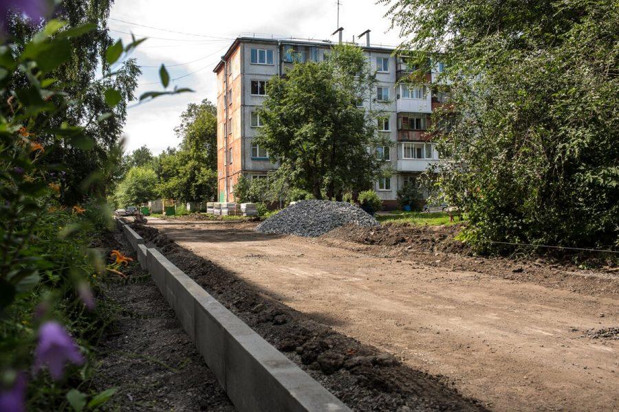 В 2018 году в Кемерове дополнительно отремонтируют 12 дворов