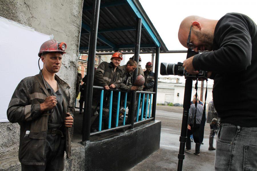 Фотограф из Нидерландов посетил кузбасскую шахту