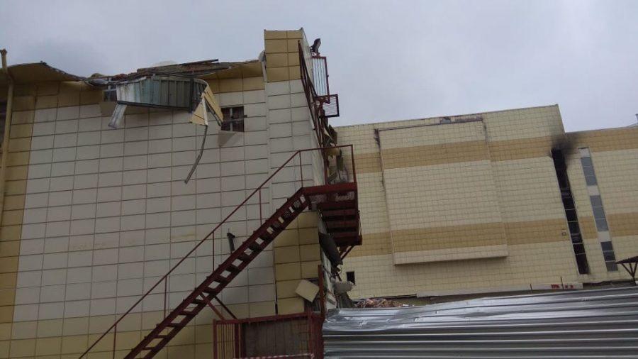 В Кемерове 14 июля должен начаться снос сгоревшего ТРК «Зимняя вишня»