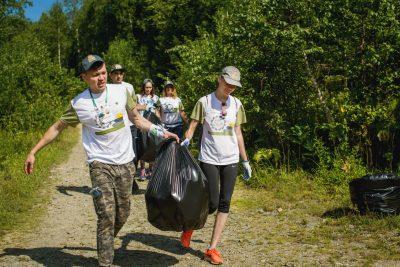 В Кузбассе провели экологическую акцию «Zубочистка»