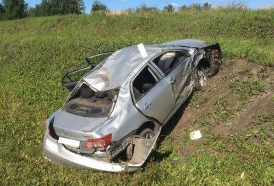 ГИБДД: в ДТП на кузбасском автобане, после которого смяло Toyota, никто не погиб
