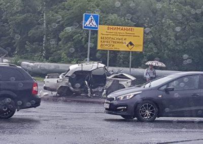 В ГИБДД рассказали подробности серьёзного ДТП в Ленинском районе Кемерова