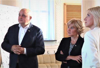 Вице-премьер Ольга Голодец посетила Новокузнецк