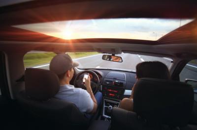 В 2018 году в Кемерове водителей оштрафовали на 300 тысяч за телефонные разговоры за рулём
