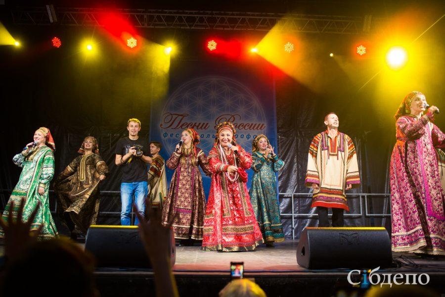 Надежда Бабкина даст концерт наплощади Советов вКемерове