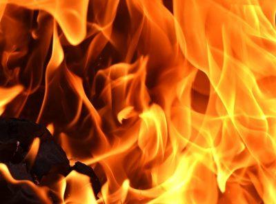 В Прокопьевском районе горел муниципальный автобус
