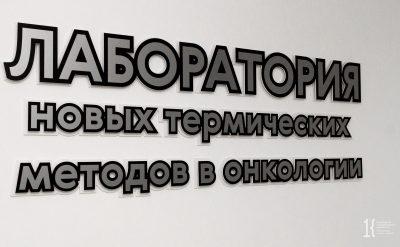 В октябре в КемГУ откроют лабораторию новых термических методов в онкологии