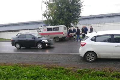 МВД: в Кемерове при ДТП на Кузнецком пострадали трое