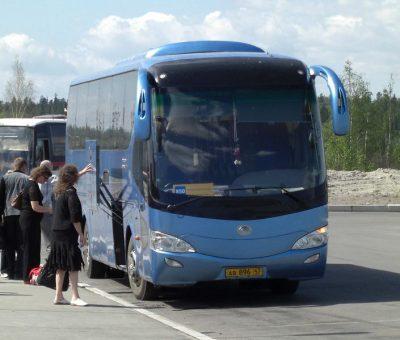 Первый автобус марки Yutong планируют собрать на заводе в Кузбассе до конца 2018 года
