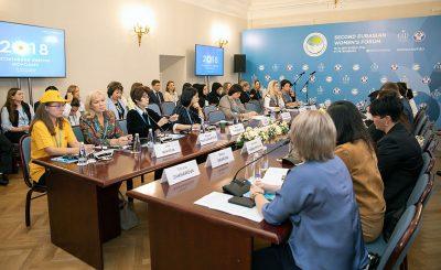 Члены трудового отряда СУЭК поучаствовали в работе дискуссионных клубов Евразийского форума в Петербурге