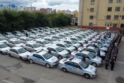 Кузбасская полиция получила 77 новых служебных машин