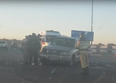 В ГИБДД рассказали подробности аварии с Mitsubishi, есть пострадавшая