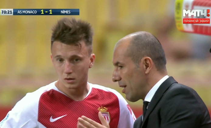 Футболист из Кузбасса Александр Головин дебютировал за «Монако»